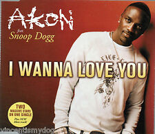 AKON feat. SNOOP DOGG - I WANNA LOVE YOU (2 track CD single)