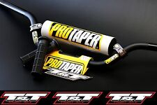 ktm atv protaper handlebar se handle bar N STOCK pro taper bar grip ptr white