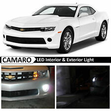 2014-2015 Chevy Camaro White Interior Exterior LED Lights Package Kit + TOOL