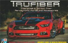 2016 Trufiber Ford Mustang SEMA Show Promo info card