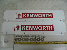 Pair of Kenworth Logo Quarter Fender Top Mud Flap Includes: Mudflap & Hardware