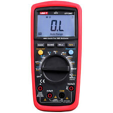 UNI-T UT139C True RMS Auto Range LCD Digital Multimeter AC DC Voltage Resistance