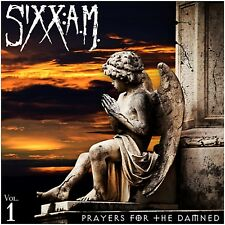 Sixx:AM - Prayers for the Damned - New Ultra Clear 180g Vinyl LP+ MP3