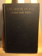 THE HOUSE OF SATAN  GEORGE JEAN NATHAN HC 1ST EDITION 1926
