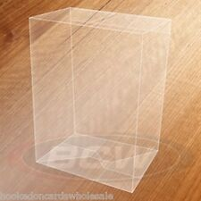 1 Pack of 6 Clear Boxes - BCW Box for Funko Pop! Figure 4 1/2 x 6 1/4 x 3 1/2