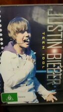 Justin Bieber Teen Idol DVD MOVIE ♥♥♥ FREE POST