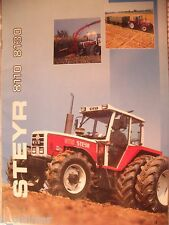 ✪Trecker/Schlepper/Land sales brochures Original Prospekt/HEFT Steyr 8110 + 8130
