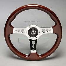 Legno Retrò Volante Sport Volante 330mm FIAT x1/9 ritmo 124 SPIDER ABARTH 128 NUOVO
