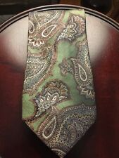 Rare Absolutely Beautiful Vintage Paisley Burberry London Tie- Amazing!!!
