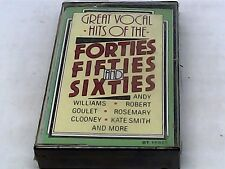 Great Vocal Hits of the Forties, Fifties and Sixties - Cassette - SEALED