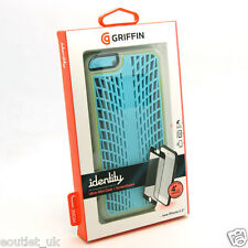 Griffin Identity Case/Cover for iPhone 6s Plus / 6 Plus Turquoise/Grey NEW