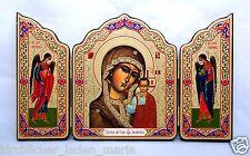 Ikone Gottesmutter von Kazan икона Богородица Казанская освящена 22,5x13,2x1 cm