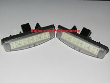 2004 2005 2006 2007 2008 TOYOTA SIENNA WHITE CREE LED LICENSE PLATE LIGHT LAMP