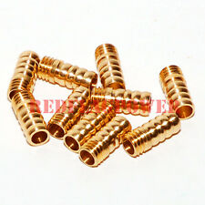 10 x  M5 threaded 5mm brass water nipples RC boat motor engine pick up 10 pcs