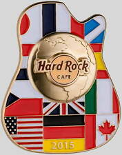 Hard Rock Cafe ONLINE 2015 City ICONS Series PIN on CARD Mint New! LE 200 Made!