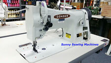 Consew 206RB-5 Leather Sewing Machine - Fully Assembled w/ Servo Motor - NEW