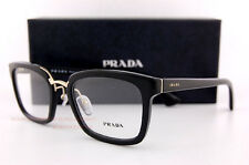 Brand New Prada Eyeglass Frames PR 09SV 1AB 1O1 Black for Women Size 53