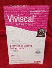 Viviscal Hair Growth Supplement Women Extra Strength 60 Tablets EXP 07/2019