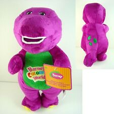 "Barney The Dinosaur 11"" Sing I LOVE YOU song Purple Plush Soft Toy Doll + GIFT"
