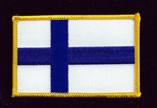 FINLAND COUNTRY HAT VEST FLAG PATCH SOUVENIR TRIP GIFT PIN UP EUROPE WOW