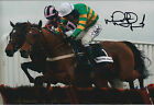Mick Fitzgerald SIGNED Jockey Autograph 12x8 Photo AFTAL COA Gold Cup WINNER