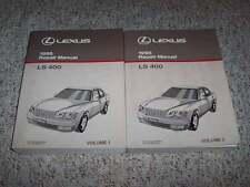 1998 Lexus LS400 Factory Shop Service Repair Manual 4.0L V8