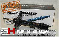 2 NEW FRONT GAS SHOCK ABSORBERS FOR MITSUBISHI SPACE WAGON 1998-2000 /GH 353093/