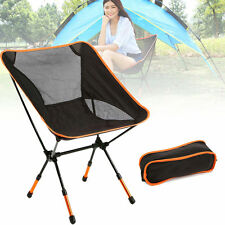 Portable Outdoor Seat Stool Folding Camping Fishing Garden Beach Chair+Carry Bag