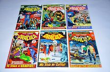 Tomb Of Dracula 1 2 3 4 6 7 8 9 11 12 13 14 15 16 17 Bronze Run Lot Blade