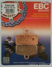"KTM SX 85 (2012 to 2015) EBC ""R"" Sintered FRONT Brake Pads (FA612R) (1 Set)"