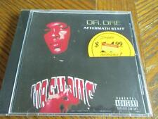 RARE IMPORT CD~DR. DRE~AFTERMATH STAFF~Canada Disque Du Monde~Sealed