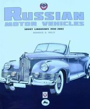 LIVRE/BOOK : VOITURE RUSSE 1930-2003 (russian cars,soviet limousines,automobile