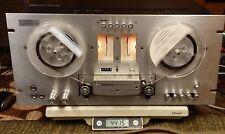 PIONEER 3 Motor 3 Head Tape Deck Reel To Reel RT-701 W/ Manual/Schematic-WORKING