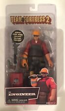 "6.5"" THE ENGINEER figure TEAM FORTRESS 2 edition RED neca SERIES 3 w/ BONUS CODE"