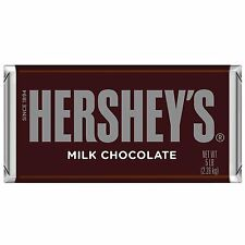 Hershey's Milk Chocolate Candy Bar, 5-Pound Bar from Hershey's 5.1pounds New XCL