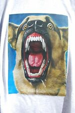 graphic retro art vintage Mens Cotton T Shirt S,M,L,XL, Attack Dog