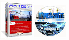 Web Site Design Suite Web Builder CSS HTML Editor + Bonus Desktop Publisher PCCD