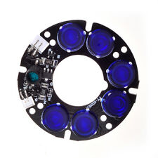 6 blue array LED IR Infrared Board for CCTV cameras night vision (53mm diameter)