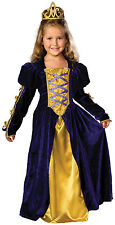 Girls gasparilla pirate renaissance Medieval Regal Queen Gown Costume Lg 10-12