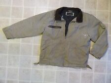 DUNBROOKE Canvas Quilt Lined JACKET L Reg Duck Cloth Chore Ranch Insulated Large