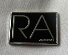 *NEW* Richard Ashcroft 'RA' enamel badge. The Verve, Oasis,Stone Roses,Indie,Mod