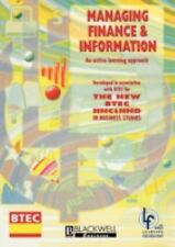 Open Learning Foundation: Managing Finance and Information : An Active...