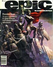 Epic Illustrated Comic 34 Issues on DVD Adult Fantasy and Science Fiction