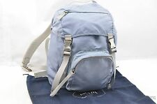 Authentic PRADA Nylon Backpack Light Blue 30465