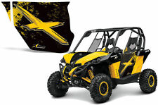 AMR Racing Can-Am Commander/Mave UTV Door Graphics Wrap for UTV Inc Doors (2) BX