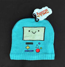 NWT Adventure Time Beemo Knit Hat Blue Cartoon Network Beanie Cap Bioworld OS