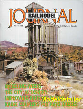 Railmodel Journal Oct92 New England D&RGW GATX Tank GP40 EMD E7-A PRR Milk Train