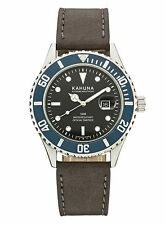 Kahuna Men's Black Dial DATE Watch. 5ATM/ GENTS DIVERS 50 METERS WATER RESISTANT