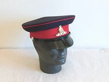 British Army-Issue Royal Artillery Service Cap & Badge. Size 56cm