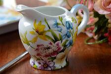 Katie Alice giardino inglese shabby chic PICCOLO Latte / Crema BROCCA